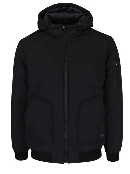 Černá bunda s kapucí Jack & Jones Zapp