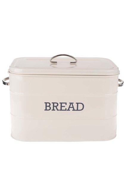 Krémová retro plechovka na chléb Kitchen Craft