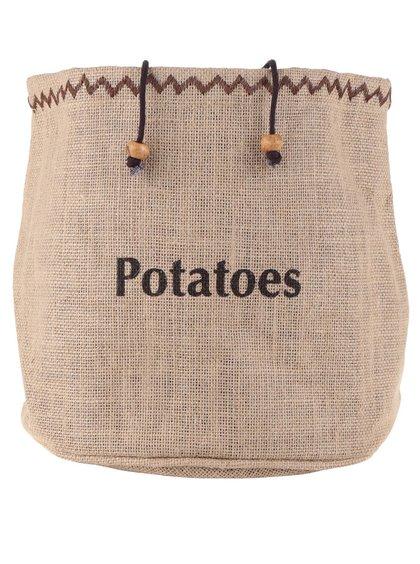 Béžový vak na zemiaky Kitchen Craft