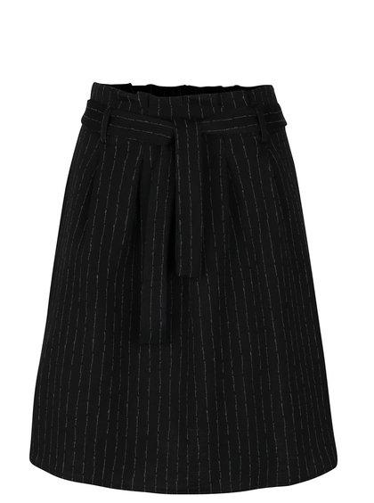 Černá vzorovaná sukně se sklady Alchymi Robin