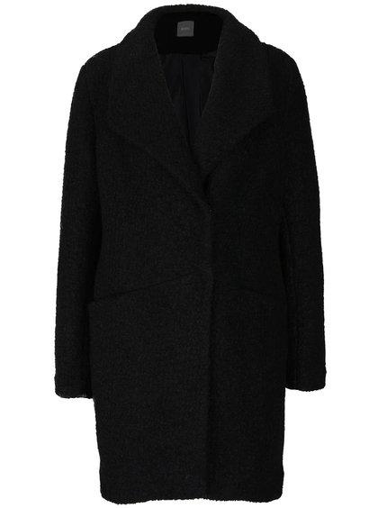 Černý vlněný kabát ZOOT