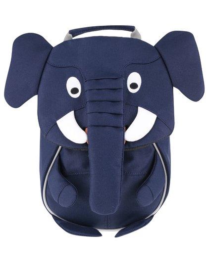 Tmavě modrý batůžek ve tvaru slona Affenzahn