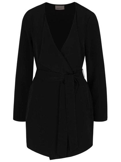 Černý blejzr s páskem Vero Moda Maggie