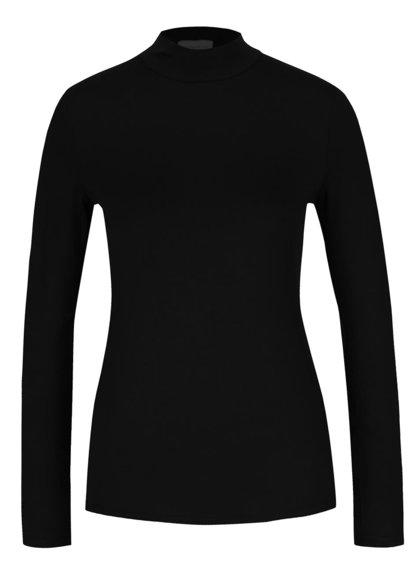 Černé tričko se stojáčkem Dorothy Perkins