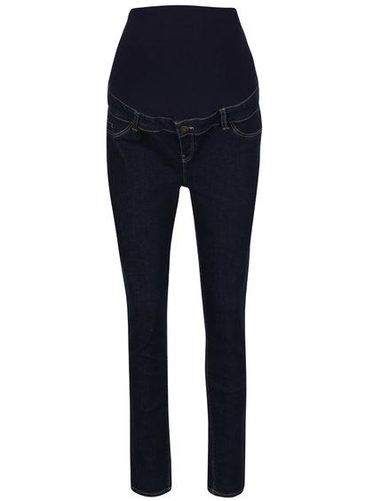 Tmavě modré těhotenské super skinny džíny Dorothy Perkins Maternity