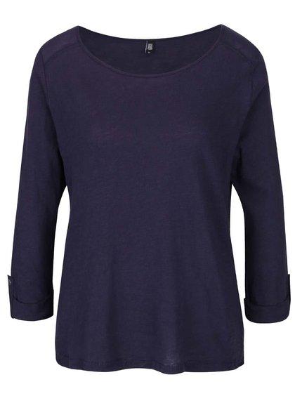 Tmavě modré tričko s 3/4 rukávy Haily´s Ocie