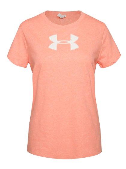 Lososové dámské funkční tričko s krátkým rukávem Under Armour