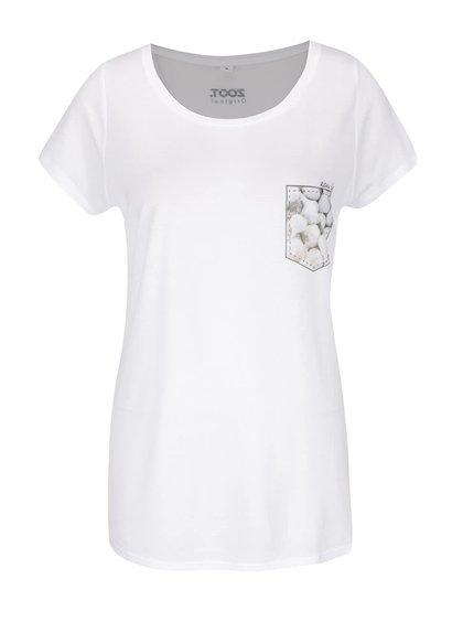 Bílé dámské tričko ZOOT Originál Česnek