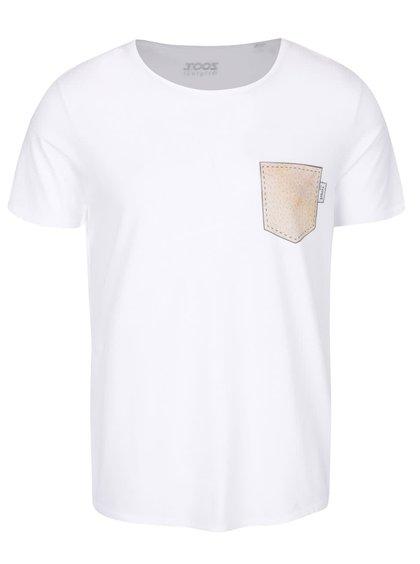 Tricou alb de bărbați ZOOT Original 100% Șorici