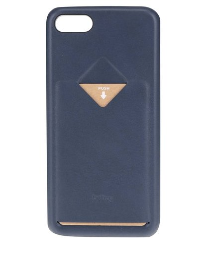 Carcasă albastru închis pentru iPhone 7 Bellroy cu sloturi pentru card și sim