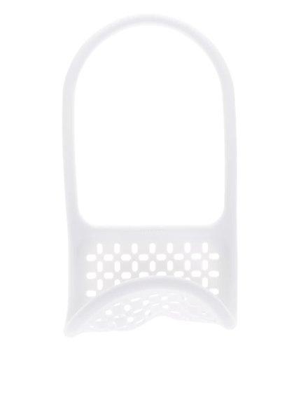 Bílý flexibilní držák na houbičky Umbra Sling