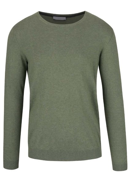 Světle zelený lehký svetr Selected Homme Seb