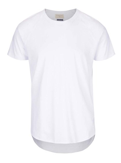 Bílé triko s krátkým rukávem Selected Homme Screamy