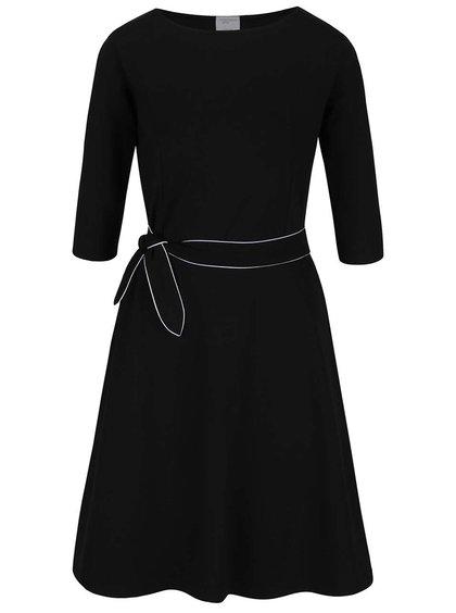 Černé šaty s mašlí Jana Minaříková Original Myself