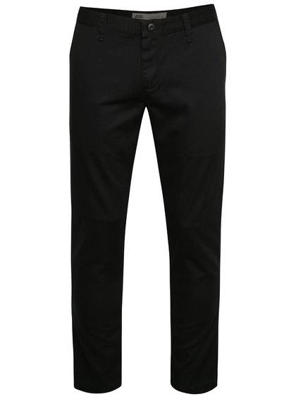 Čierne pánske chino nohavice Vans Barlin