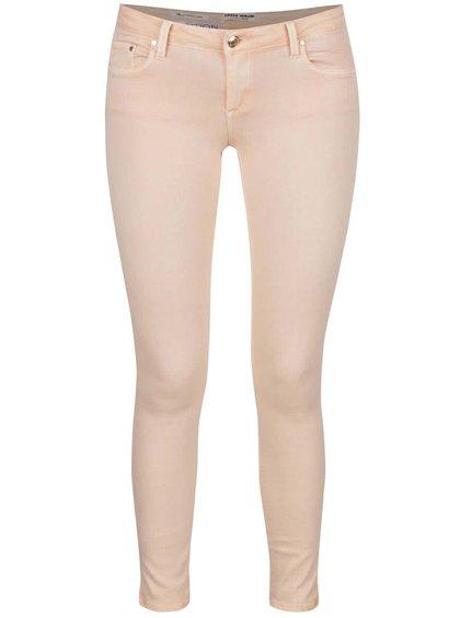 Meruňkové skinny džíny s nízkým pasem TALLY WEiJL
