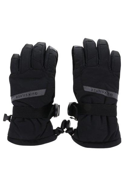 Mănuși negre Quiksilver pentru băieți