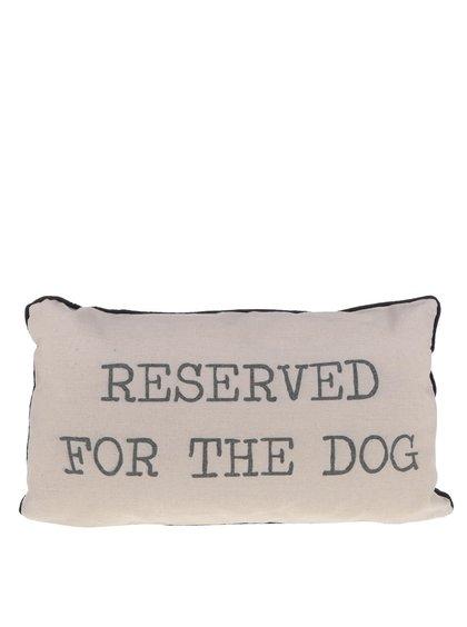 Béžový vankúš pre psa Sass & Belle Reserved for the dog
