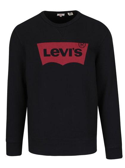 Čierna pánska mikina s potlačou Levi's®