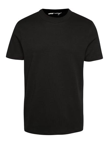 Čierne tričko s krátkym rukávom Jack & Jones High