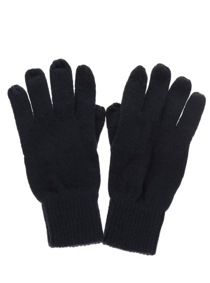 Tmavě modré rukavice Burton Menswear London