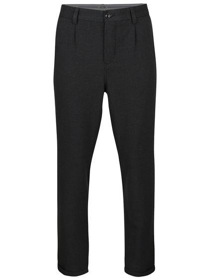 Tmavě šedé formální kalhoty Jack & Jones Robert