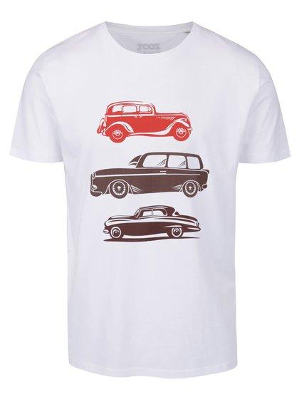 Tricou alb cu imprimeu ZOOT Original pentru bărbți