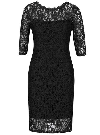 Černé krajkové šaty Alchymi Parsa