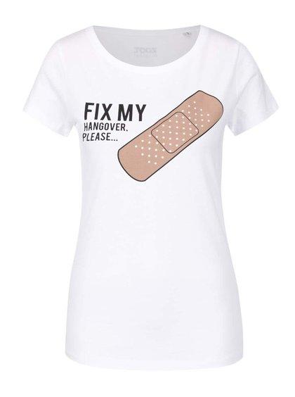 Tricou alb ZOOT Original Fix me din bumbac cu print