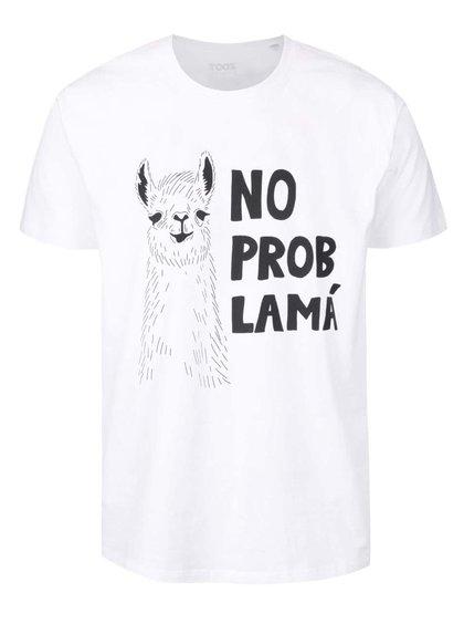 Bílé pánské tričko ZOOT Originál No probLamá