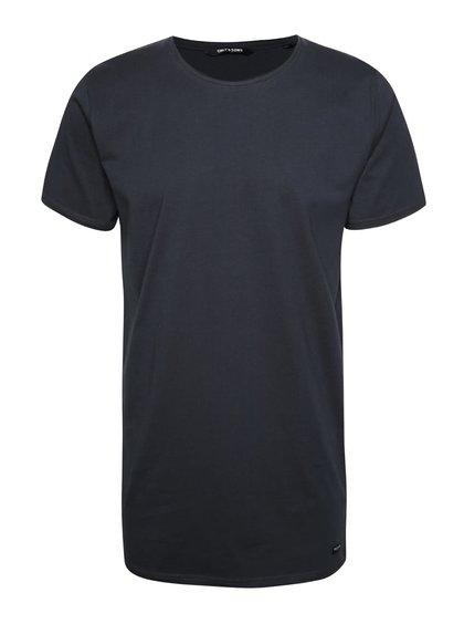 Tmavě modré delší triko ONLY & SONS Long