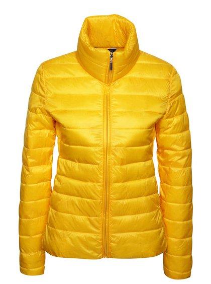 Žlutá prošívaná bunda Dorothy Perkins