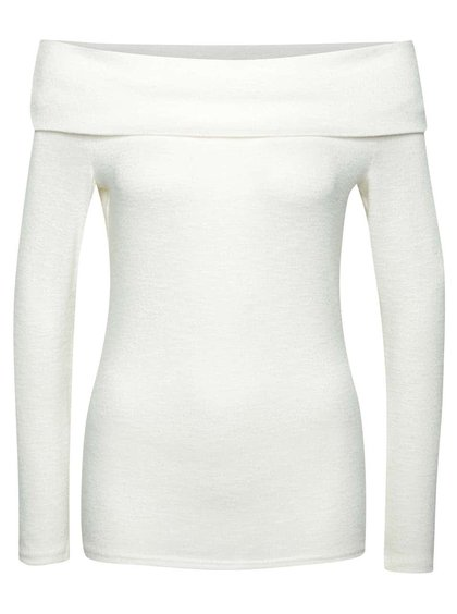 Bluză alb fildeș Dorothy Perkins fără umeri