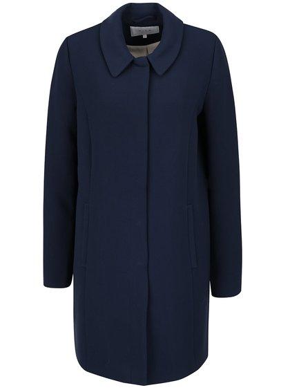 Tmavě modrý kabát Vila Sure