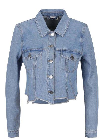 Světle modrá džínová bunda Noisy May Debra