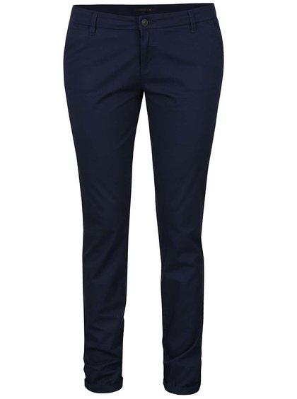 Tmavě modré chino kalhoty ONLY Paris