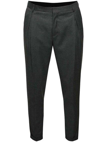 Šedé kalhoty Selected Homme Xanti