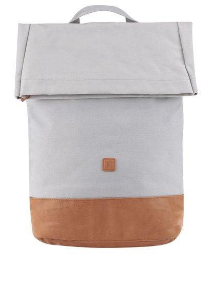 Hnědo-šedý voděodolný unisex batoh Ucon Karim Waterproof 20 l