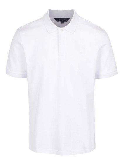 Tricou polo alb Perry Ellis Archive pentru bărbați