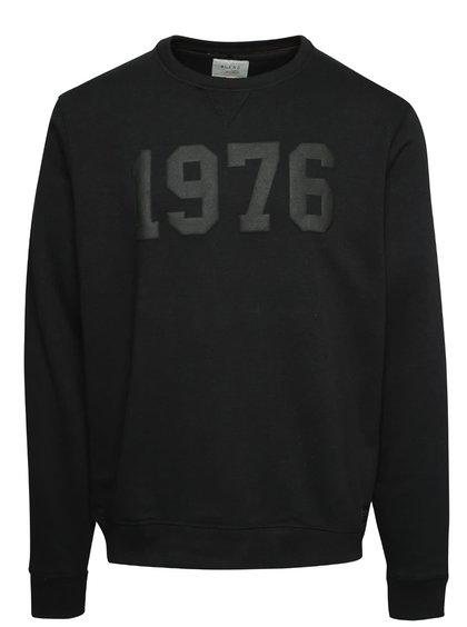 Bluză neagră Blend cu print