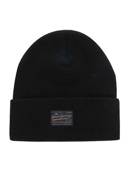 Černá zimní čepice !Solid Edris