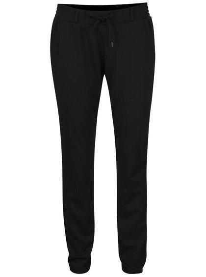 Černé dámské kalhoty s.Oliver