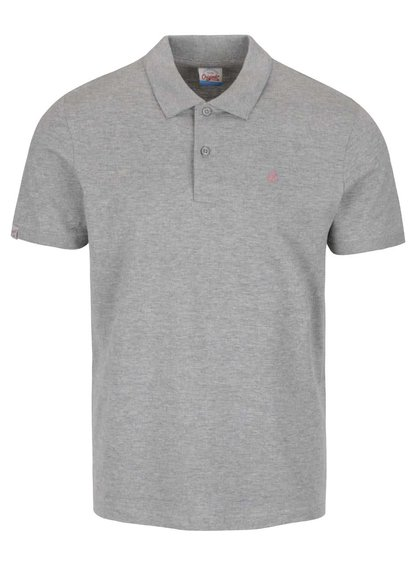 Šedé polo triko Jack & Jones Perfect