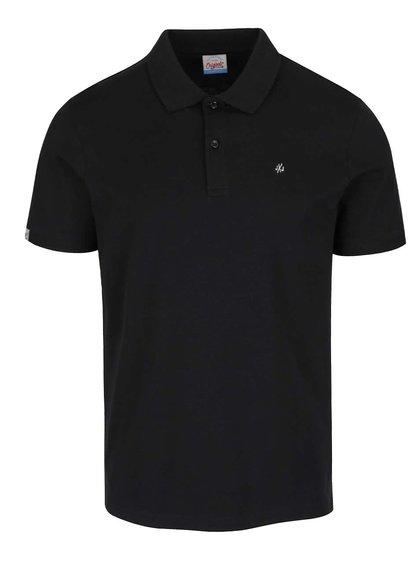 Černé polo triko Jack & Jones Perfect