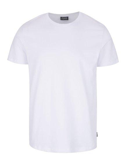 Bílé basic triko s krátkým rukávem Jack & Jones Basic
