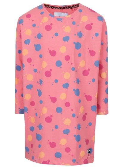 Rochie roz de fete 5.10.15. cu model