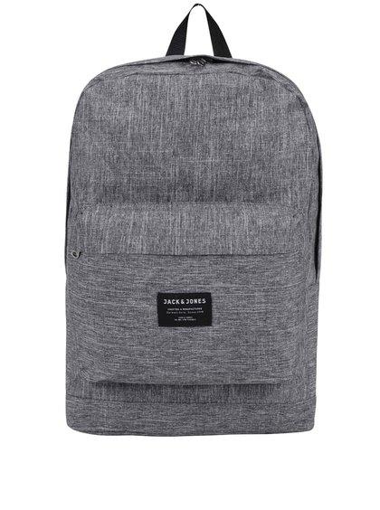 Šedý žíhaný batoh Jack & Jones Basic