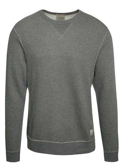 Bluză gri Jack & Jones Rugged cu mânecă lungă