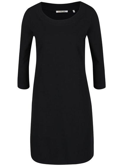 Černé šaty s 3/4 rukávy Rich & Royal