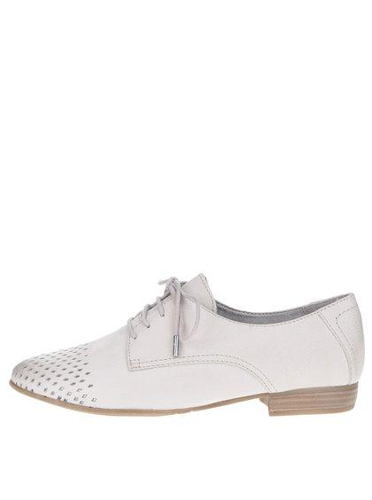 Pantofi gri Tamaris din piele